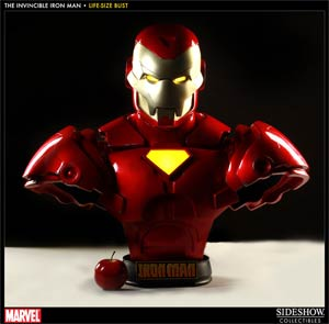 Invincible Iron Man Life-Size Bust