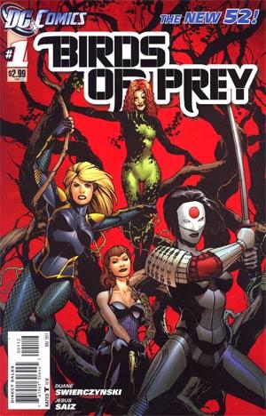 Birds Of Prey Vol 3 #1 2nd Ptg