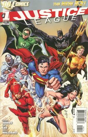 Justice League Vol 2 #1 4th Ptg