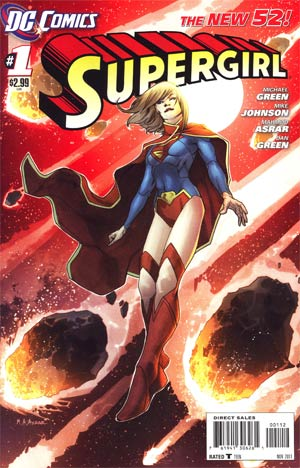 Supergirl Vol 6 #1 2nd Ptg