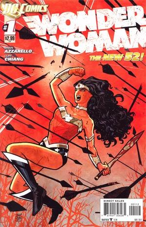 Wonder Woman Vol 4 #1 2nd Ptg
