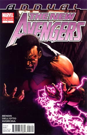 New Avengers Vol 2 Annual #1 2nd Ptg Gabriele Dell Otto Variant Cover