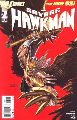 Savage Hawkman #1 Cover B 2nd Ptg