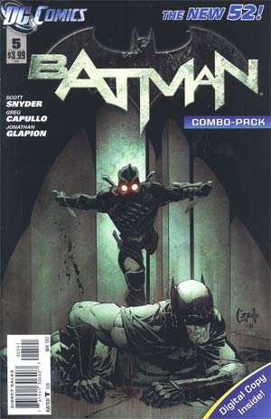 Batman Vol 2 #5 Cover D Combo Pack With Polybag