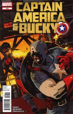 Captain America And Bucky #626