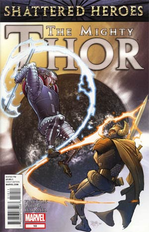 Mighty Thor #10 Cover A Regular Pasqual Ferry Cover (Shattered Heroes Tie-In)