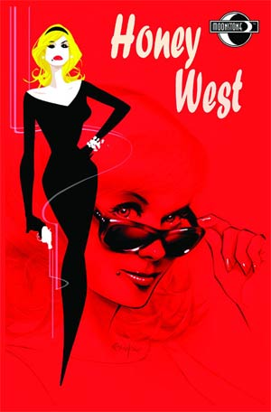 Honey West #6 Franchesco Red Cover