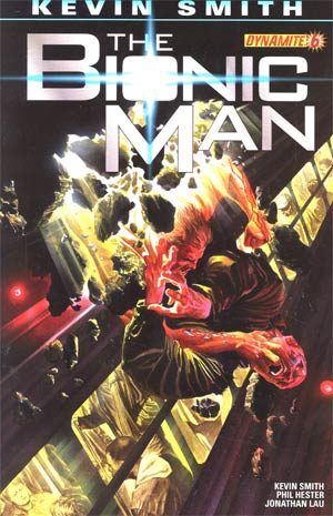 Bionic Man #6 Regular Alex Ross Cover