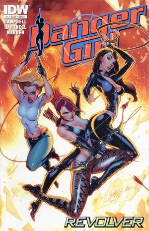 Danger Girl Revolver #1 Cover A Regular J Scott Campbell Cover