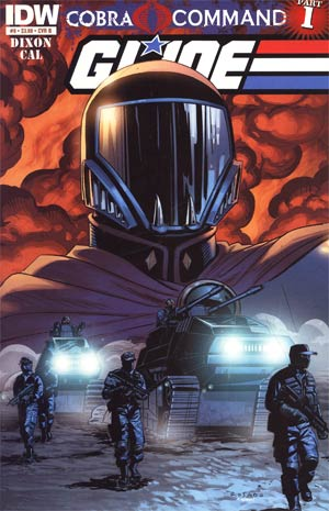 GI Joe Vol 5 #9 Regular Cover B (Cobra Command Part 1)