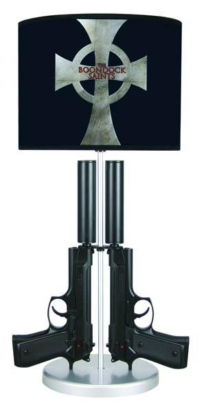 Boondock Saints Double-Gun Table Lamp