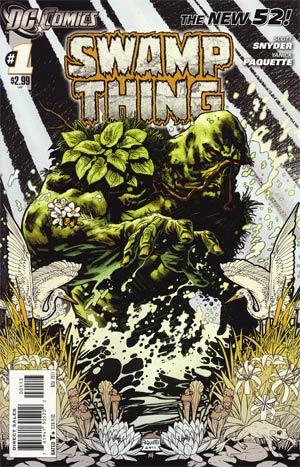 Swamp Thing Vol 5 #1 3rd Ptg