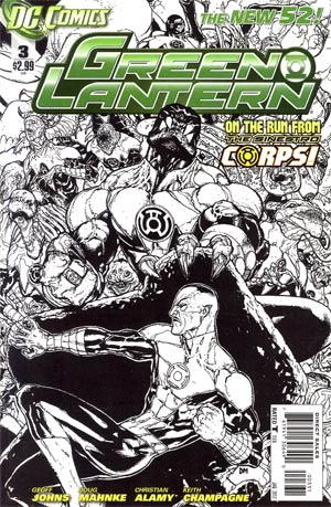 Green Lantern Vol 5 #3 Cover C Incentive Doug Mahnke Sketch Cover