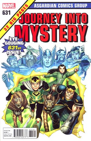 Journey Into Mystery Vol 3 #631 Cover B Incentive Marvel Comics 50th Anniversary Variant Cover (Shattered Heroes Tie-In)