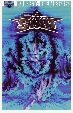 Kirby Genesis Silver Star #1 Cover D Incentive Alex Ross Negative Art Cover