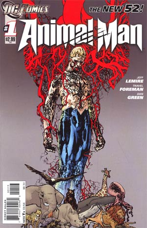 Animal Man Vol 2 #1 3rd Ptg