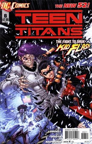 Teen Titans Vol 4 #6 Regular Brett Booth Cover