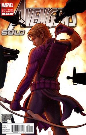 Avengers Solo #5 Regular John Tyler Christopher Cover