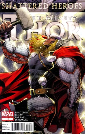 Mighty Thor #11 (Shattered Heroes Tie-In)