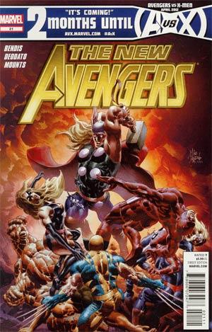 New Avengers Vol 2 #21 Regular Mike Deodato Jr Cover
