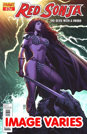Red Sonja Vol 4 #67 (Filled Randomly With 1 Of 2 Covers)