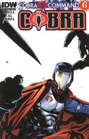 Cobra #10 Regular Cover B (Cobra Command Part 6)