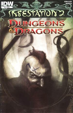 Infestation 2 Dungeons & Dragons #2 Regular Menton3 Cover