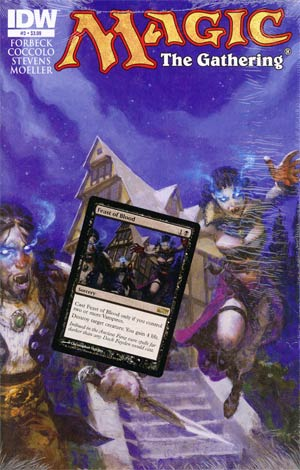 Magic The Gathering #3 Cover A Regular Christopher Moeller Cover Polybagged