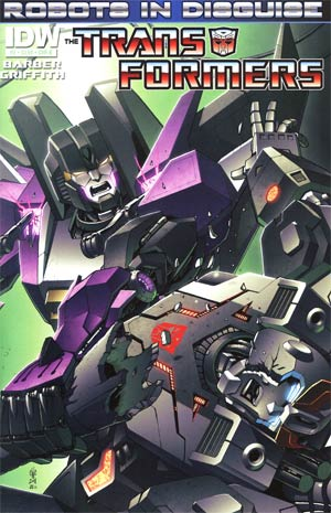 Transformers Robots In Disguise #2 1st Ptg Regular Cover B