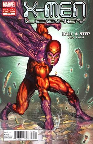 X-Men Legacy #259 Cover C Incentive Marvel Comics 50th Anniversary Variant Cover (X-Men Regenesis Tie-In)