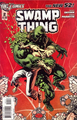 Swamp Thing Vol 5 #2 2nd Ptg