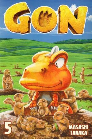 Gon Vol 5 GN Kodansha Edition