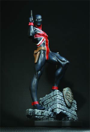 Union Jack Statue By Bowen