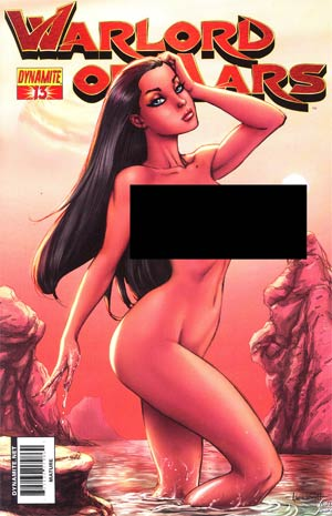 Warlord Of Mars #13 Incentive Ale Garza Risque Variant Cover