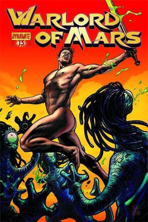 Warlord Of Mars #13 Incentive Stephen Sadowski Martian Red Cover