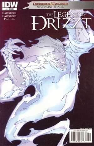 Dungeons & Dragons Legend Of Drizzt Neverwinter Tales #4 Cover C Incentive Monster Of The Month Variant Cover