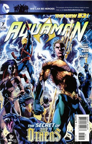 Aquaman Vol 5 #7 Regular Ivan Reis Cover