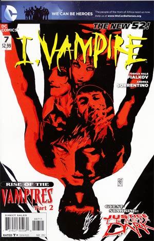 I Vampire #7 (Rise Of The Vampires Part 2)