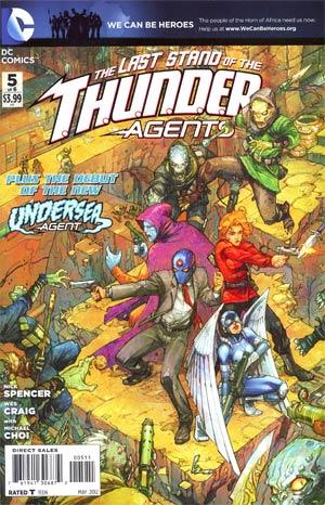 THUNDER Agents Vol 4 #5