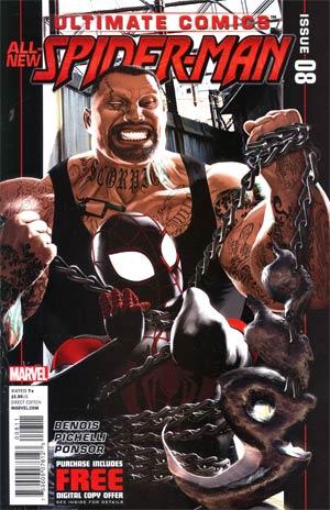 Ultimate Comics Spider-Man Vol 2 #8 Cover A Regular Kaare Andrews Cover