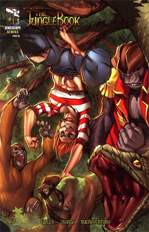 Grimm Fairy Tales Presents Jungle Book #1 Cover D Monkey Man