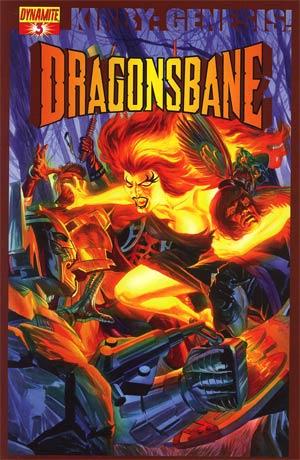 Kirby Genesis Dragonsbane #3 Cover A Regular Alex Ross Cover