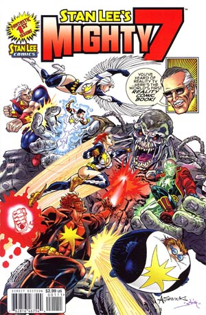 Stan Lees Mighty 7 #1 Cover A Regular Alex Saviuk Cover