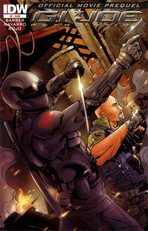 GI Joe Retaliation Movie Prequel #3 Regular Salvador Navarro Cover