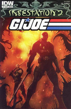 Infestation 2 GI Joe #1 Regular Cover B