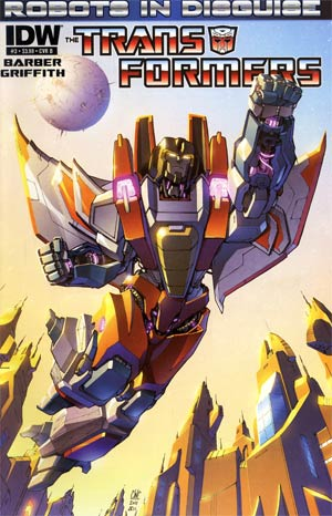 Transformers Robots In Disguise #3 Regular Cover B