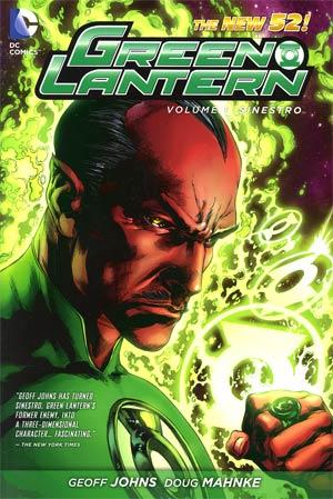 Green Lantern (New 52) Vol 1 Sinestro HC