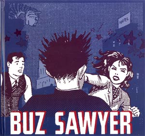 Buz Sawyer Vol 2 Sultrys Tiger HC