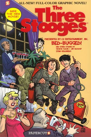 Three Stooges Vol 1 Bed-Bugged TP