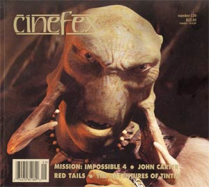 Cinefex #129 Apr 2012